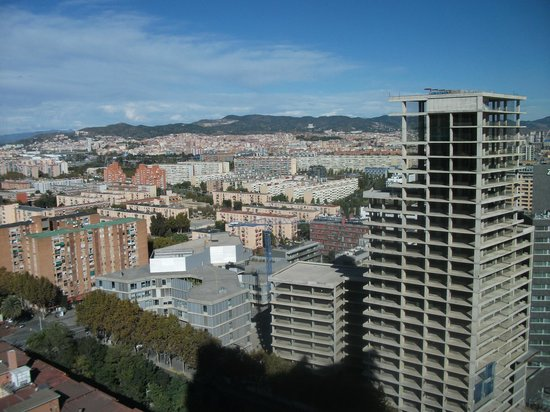 Barcelona Princess: View from the window in the hallway