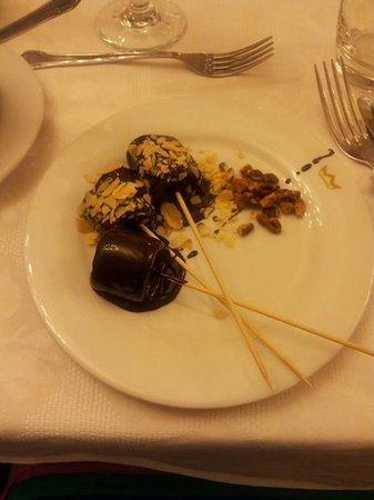Hotel Riu Palace Paradise Island: from chocolate fountain