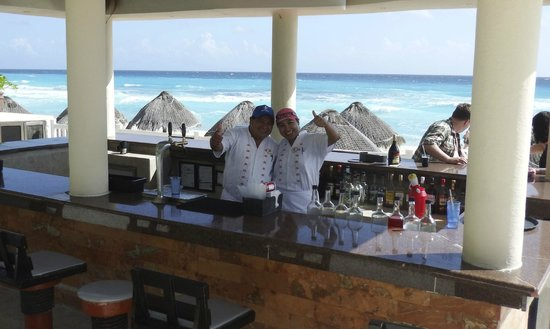 Golden Parnassus All Inclusive Resort & Spa Cancun: Dolphin Bar