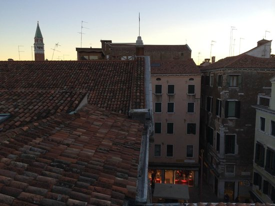 Hotel Canada Venezia: View from the terrace - 12B