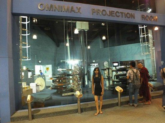 Omni-Theatre by Science Centre Singapore: Projection Room, Omni-Theatre and Planetarium