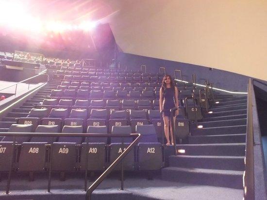 Omni-Theatre by Science Centre Singapore: Seating in Omni-Theatre