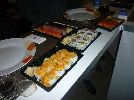 Shiro : Il nostro sushi da asporto....
