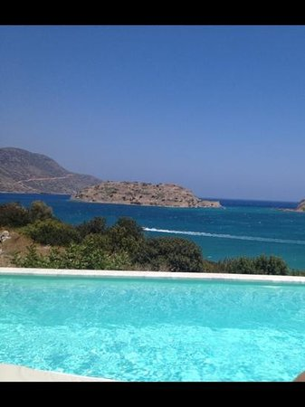 Domes of Elounda, Autograph Collection: Aussicht Zimmer/Pool