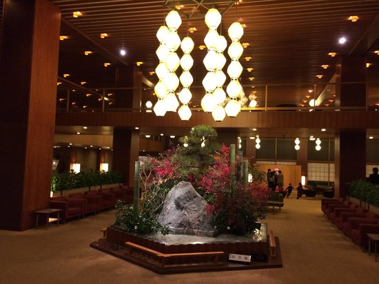 Hotel Okura Tokyo : 別館のロビー