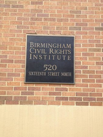 Birmingham Civil Rights Institute : Outside the museum
