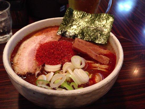 Mendokoroinosho: 辛辛魚麺