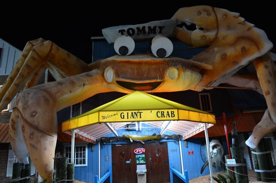 Giant Crab Seafood Restaurant: Entrance to Giant Crab