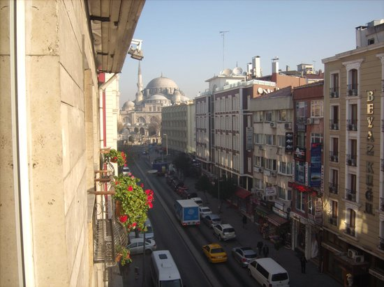 Hotel Buyuk Keban: vue à travers la fenêtre de ma chambre
