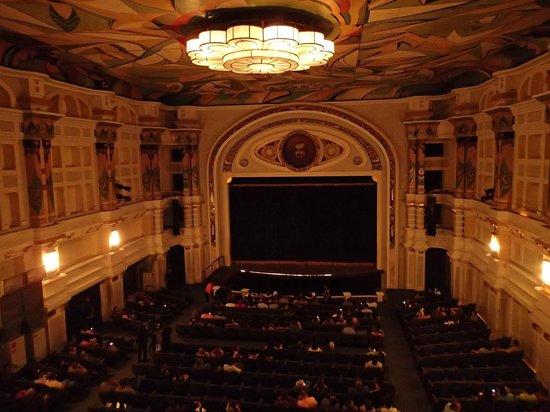 Teatro Baralt : Sala principal, detalle del plafon en el techo