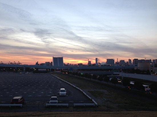 Diver City Tokyo Plaza: 景色