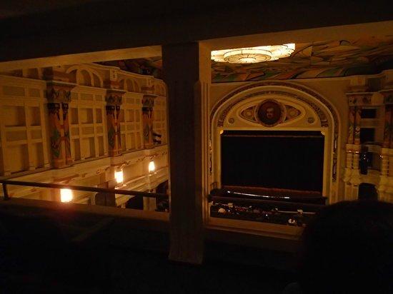 Teatro Baralt: Vista desde el palco principal