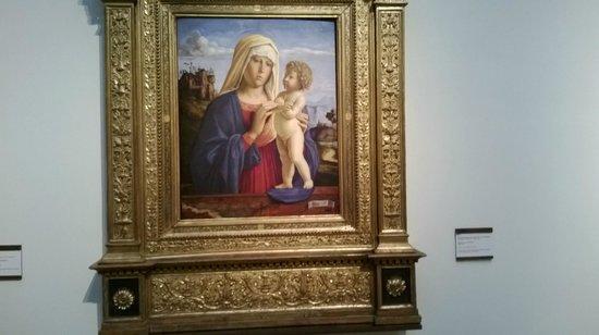 Pinacoteca Nazionale di Bologna: madonna con bambino...rinascimentale