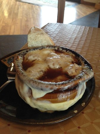 The Pottery House Cafe and Grille: French Onion Soup