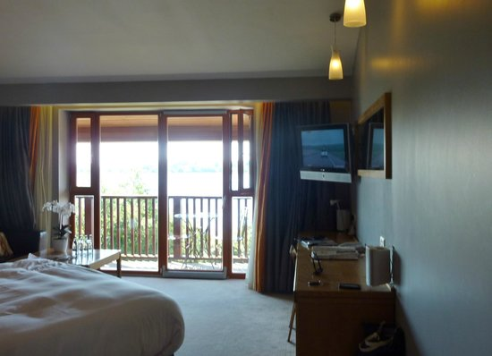 Wineport Lodge : View as you enter the room