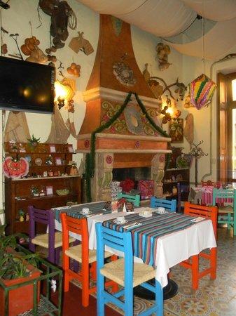 Restaurante Fin de Siglo: Uno de los comedores internos