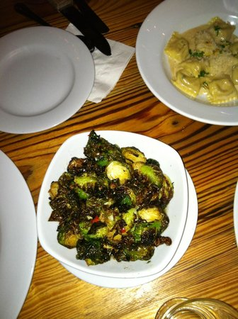 Wild Olive: Brussels sprouts with lemon and fresh chiles