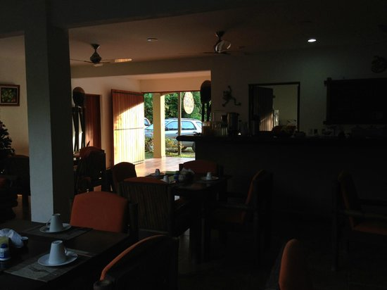 Rio Tico Safari Lodge : Breakfast area