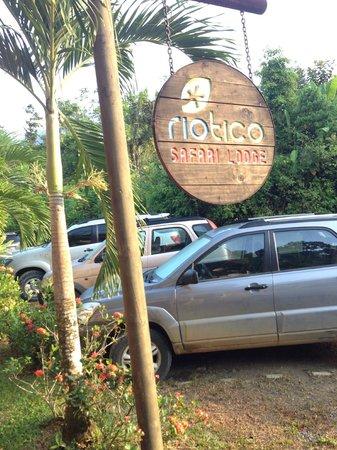 Rio Tico Safari Lodge: Sign