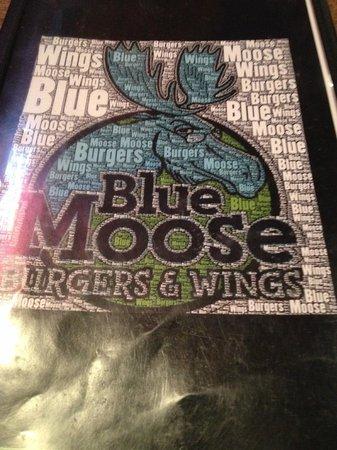 Blue Moose Burgers & Wings: Menu