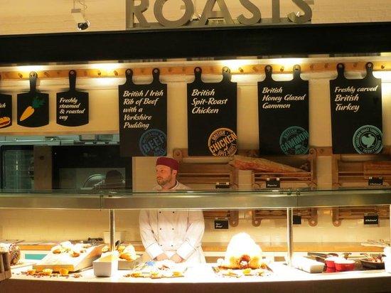 Decks Broadstairs Tesco Extra : Roast Carvery