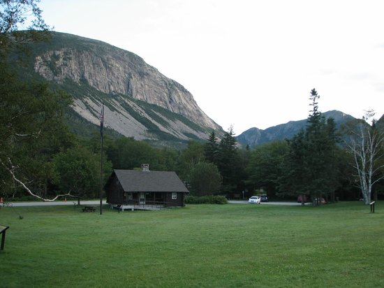 Franconia Notch : lafayette campground entrance and cannon mountain