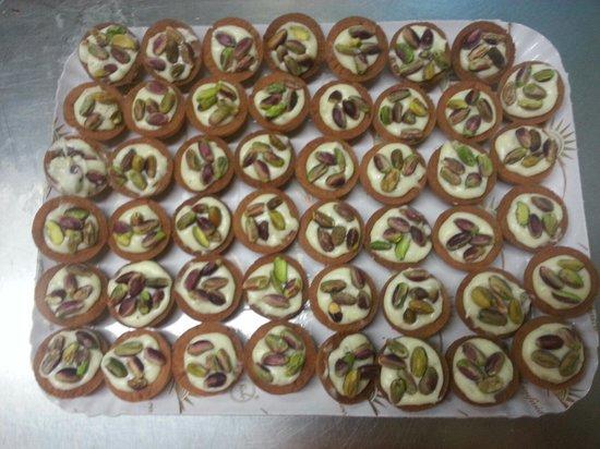 La Romanella : Canestrini ai pistacchi