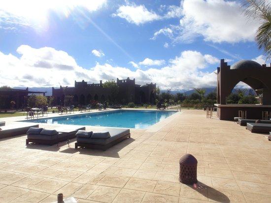 Kasbah Igoudar : piscine