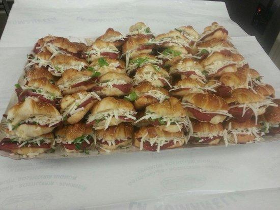 La Romanella : Cornettini salati allo speck