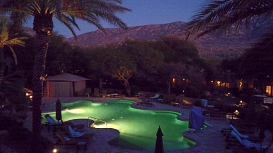 Miraval Arizona Resort & Spa : sunset view from the spa