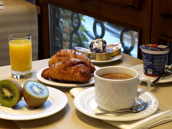 Hotel Sempione: breakfast