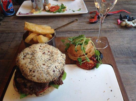 A La Turka: Delicious 21 burger