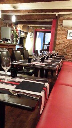 Salle restaurant la Table Perpignan