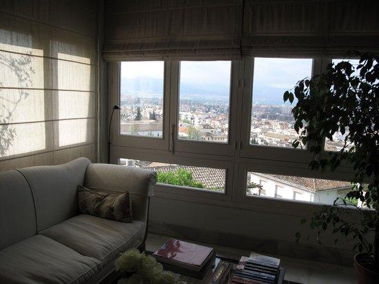 Carmen de la Alcubilla del Caracol: Lounge view