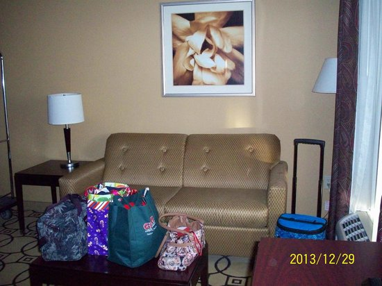 Hampton Inn & Suites Brunswick: Sitting area
