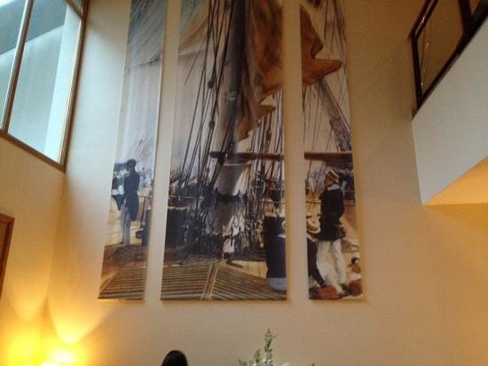 Best Western Amiral Hotel : salle du petit dejeuner