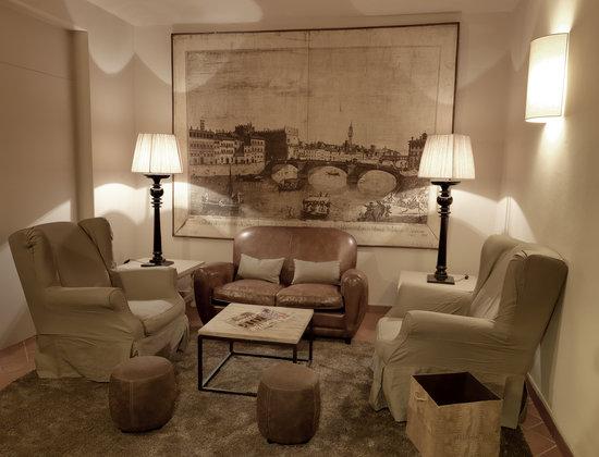 Hotel Sempione : salotto