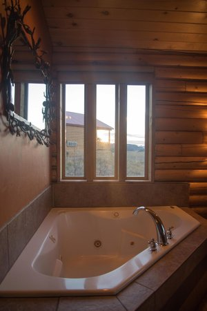 Zion Mountain Ranch : Hot tub!