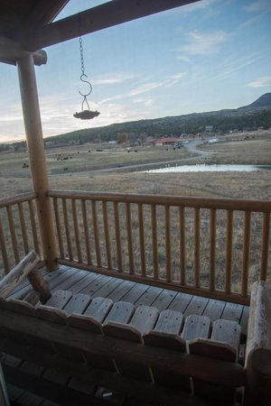 Zion Mountain Ranch : Porch swing