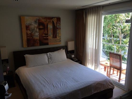 Serenity Resort & Residences Phuket: Rooms are nice but on the small side