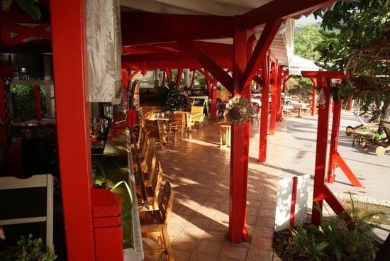 Le Rayon Vert: La bar et le resto