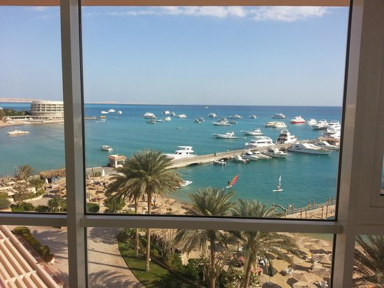 Hurghada Marriott Beach Resort: great view from the suite