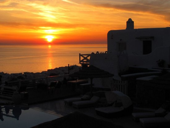 Vencia Hotel: Sunset