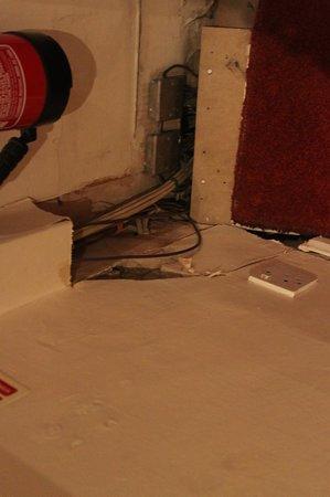 Prince William Hotel : Cable électrique