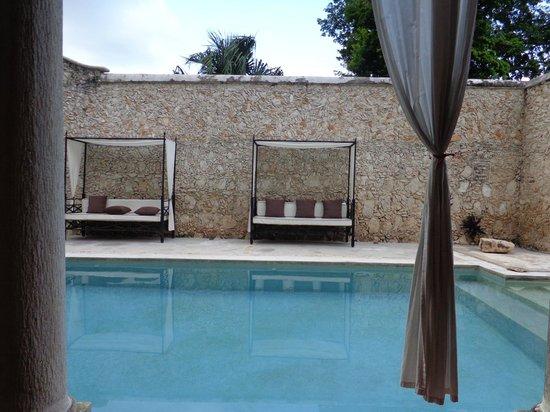 Hotel Hacienda Merida: pool  area