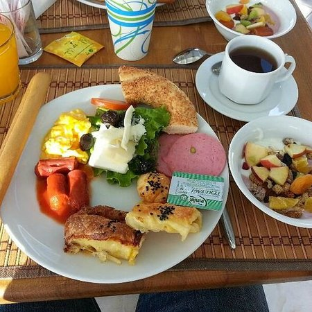 Hotel Niles Istanbul : Breakfast sample
