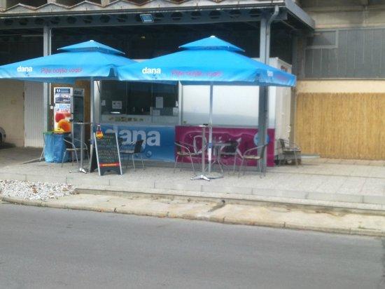 Kranj, Slovenia: T E K S fast food