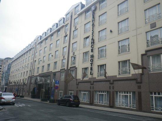 Renaissance Brussels Hotel: Vue extérieure de l'hôtel