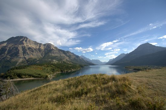 Upper Waterton Lake : Gorgeous scenery