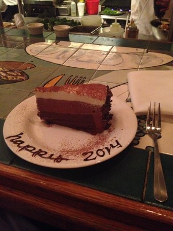 Collectors Cafe & Gallery: That unbelievable Triple Chocolate Mousse Cake!